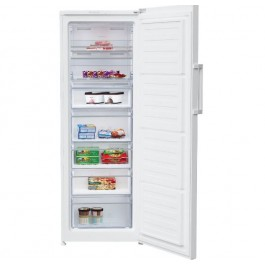 Congelador vertical Beko RFNE290L31WN Independiente Blanco 250 L A+