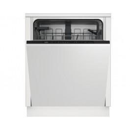 Lavavajillas 60 cm Beko DIN36420AD lavavajilla Semi integrado 14 cubiertos A++