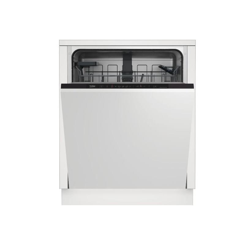 Comprar Lavavajillas 60 cm Beko DIN36420AD lavavajilla Semi integrado 14 cubiertos A++