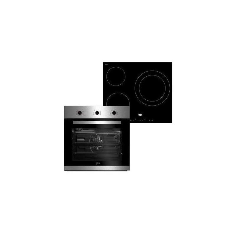 Comprar Horno + Placa vitrocerámica Beko BSE22120X clase A