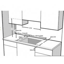 Vitrocerámica Inducción Flex HII64200FHT Ancho 60 Cm